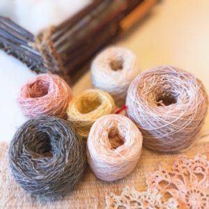 イージーコットンクラブさんの手紡ぎ糸