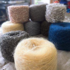 草木染の糸