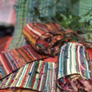 さをり織りの紐
